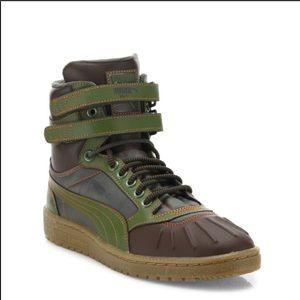 Puma Sky II High Leather Duck Boots